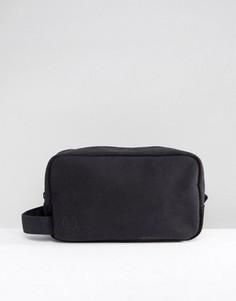 Черный парусиновый несессер Mi-Pac - Черный