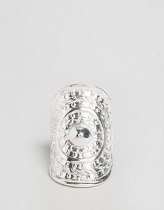Массивное кольцо с тиснением Nylon - Серебряный