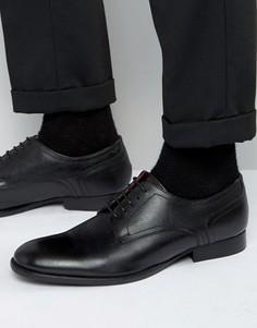 Кожаные туфли дерби Base London Ford - Черный