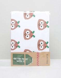 Подарочная упаковочная бумага Ohh Deer Christmas - Мульти
