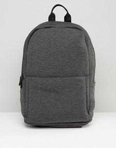 Темно-серый трикотажный рюкзак ASOS - Серый