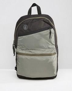 Фиолетово-черный рюкзак Volcom Academy - Черный