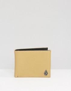 Бумажник из искусственной кожи Volcom - Рыжий