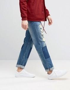 9804f7a9a19 Купить мужские джинсы с заплатками в интернет-магазине Lookbuck ...