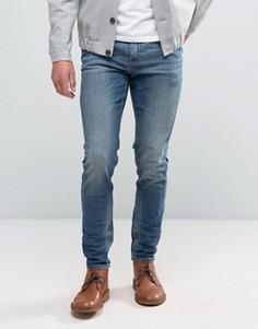 Светло-синие джинсы скинни плотностью 12,5 унций ASOS - Синий