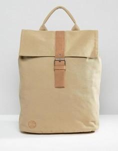 Парусиновый рюкзак песочного цвета Mi-Pac - Бежевый