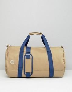Парусиновая сумка дафл песочного цвета Mi-Pac - Бежевый