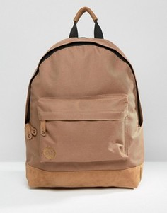 Классический рюкзак светло-коричневого цвета Mi-Pac - Коричневый