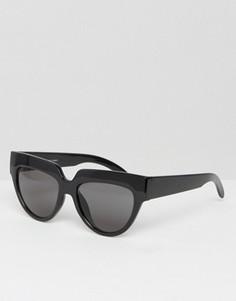 Солнцезащитные очки кошачий глаз Cheap Monday Laylow - Черный