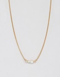 Ожерелье Pieces Filuna - Золотой