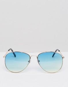 Солнцезащитные очки-авиаторы AJ Morgan - Золотой