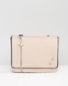 Большая сумка с клапаном Fiorelli Mary Read - Кремовый