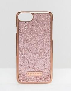 Золотисто-розовый чехол для iPhone 7 Skinnydip Dita - Медный