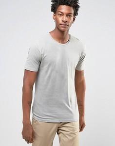 Длинная футболка Troy - Бежевый