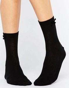 Носки с бантиками ASOS - Черный