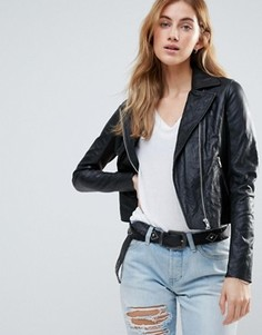 Байкерская куртка c карманами Muubaa - Черный