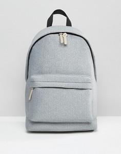 Серый рюкзак из меланжевого трикотажа ASOS - Серый