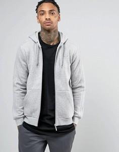 Худи на молнии adidas Originals TRF BK5898 - Серый