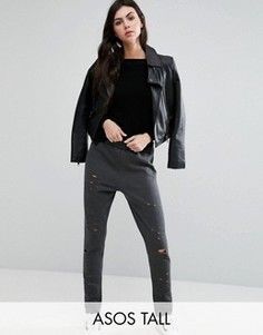 Джоггеры ASOS TALL Nibble - Серый