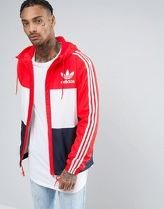Красная ветровка adidas Originals CLFN BK5939 - Синий