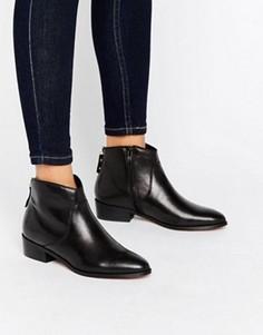 Ботинки с молнией на заднике Dune Pearcey - Черный