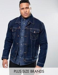 Джинсовая куртка Wrangler PLUS Authentic - Темно-синий