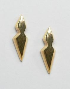 Серьги-гвоздики Made Liiche - Золотой