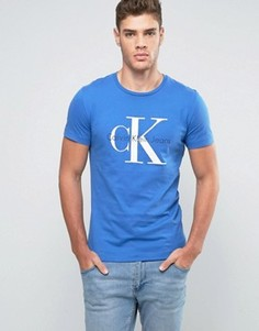 Классическая футболка Calvin Klein Jeans Re-Issue - Синий