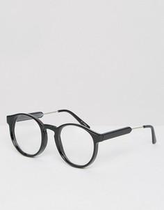 Круглые очки Spitfire - Черный