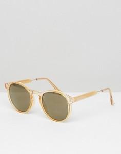 Круглые солнцезащитные очки AJ Morgan - Желтый