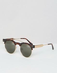 Солнцезащитные очки в стиле ретро Spitfire - Коричневый