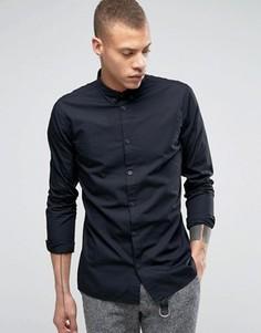 Рубашка узкого кроя Dr Denim Alvar - Черный