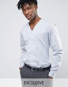 Узкая рубашка с V-образным вырезом Hart Hollywood - Серый