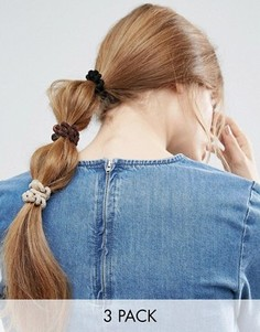 Набор ограниченной серии из 3 резинок-спиралек для волос - Мульти Asos