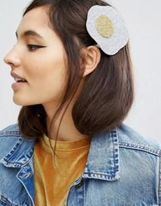 Заколка для волос ограниченной серии с блестками - Мульти Asos