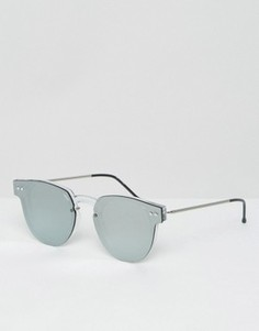Круглые солнцезащитные очки Spitfire - Серебряный