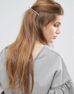 Витая заколка для волос из ограниченной серии - Золотой Asos