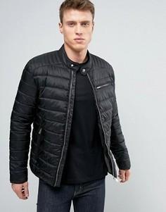 Стеганая куртка Selected Homme - Черный