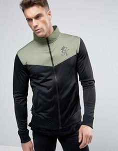 Обтягивающая спортивная куртка Gym King - Черный