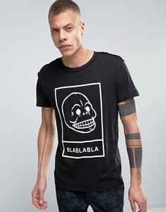 Свободная футболка Cheap Monday Etcetra - Черный