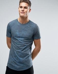 Длинная футболка Jack & Jones Premium - Черный