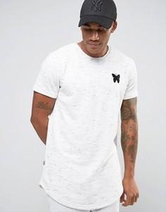 Меланжевая футболка Good For Nothing - Белый