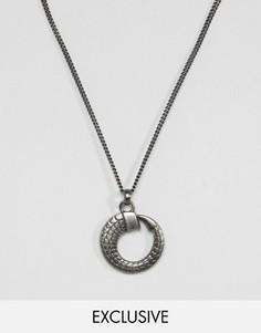 Ожерелье Simon Carter эксклюзивно для ASOS - Серебряный