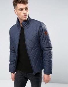 Стеганая дутая куртка Blend - Темно-синий