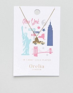 Ожерелье Orelia New York State - Золотой