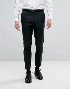 Строгие брюки скинни Burton Menswear - Зеленый
