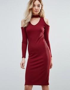 Платье миди Daisy Street - Красный