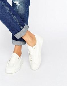 Кроссовки на ровной платформе Converse Shroud - Белый