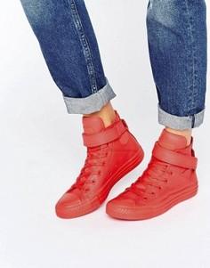 Высокие кроссовки Converse Brea - Красный