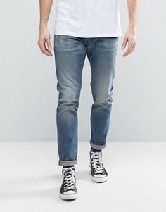 Узкие джинсы G-Star 3301 - Синий